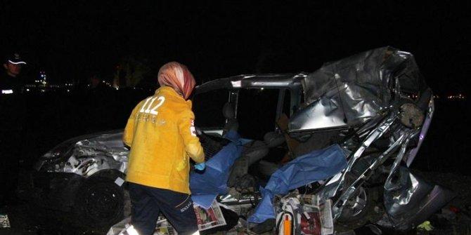 Konya'nın Seydişehir ilçesinde Korkunç kaza: Baba ve iki kızı yaşamını yitirdi!