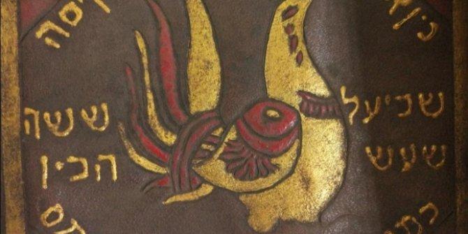 Balıkesir'de tarihi eser operasyonu: İbranice altın yaldızlı Tevrat ele geçirildi!