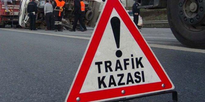 Burdur'da kaza : 8 yaralı!.