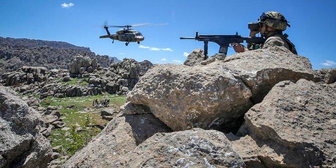 Terör örgütü YPG/PKK'ya ekimde ağır darbe vuruldu