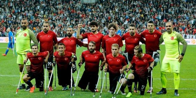Ampute Futbol Milli Takımı 2018 Dünya Kupası finalinde