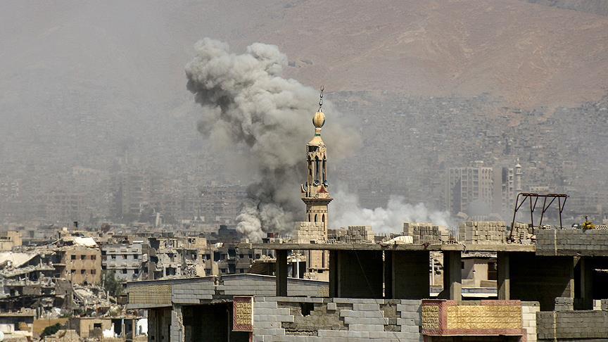 Suriye'de hava saldırıları: 19 ölü