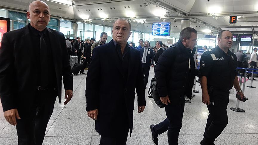 Galatasaray kafilesi Almanya'ya gitti