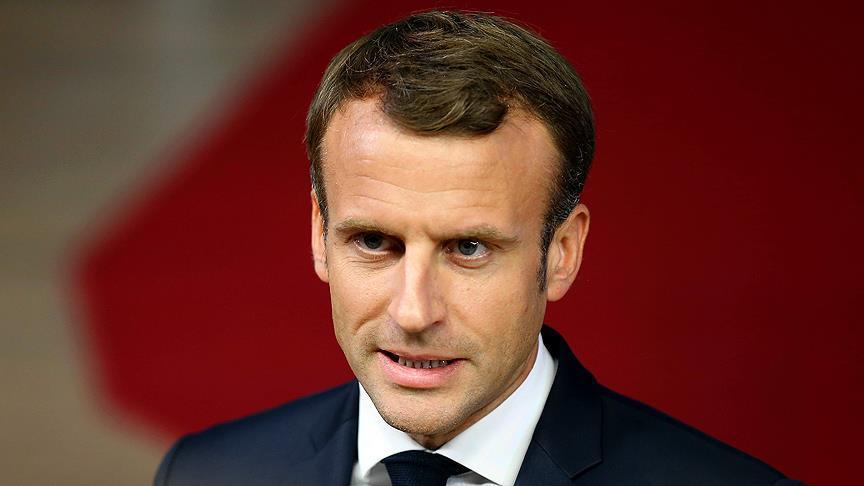 Macron'a suikast hazırlığı yapan 6 kişi gözaltına alındı