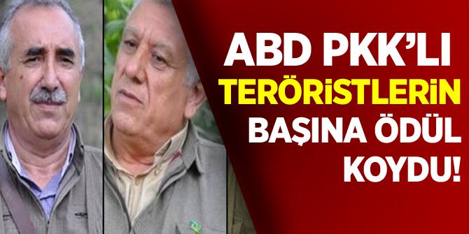 ABD'den PKK elebaşları hakkında bilgi verene para ödülü!