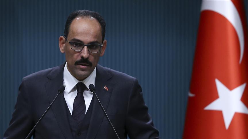 İbrahim Kalın: YPG'yi, PYD'yi PKK'dan ayırıyoruz diyerek bizi kandıramazlar