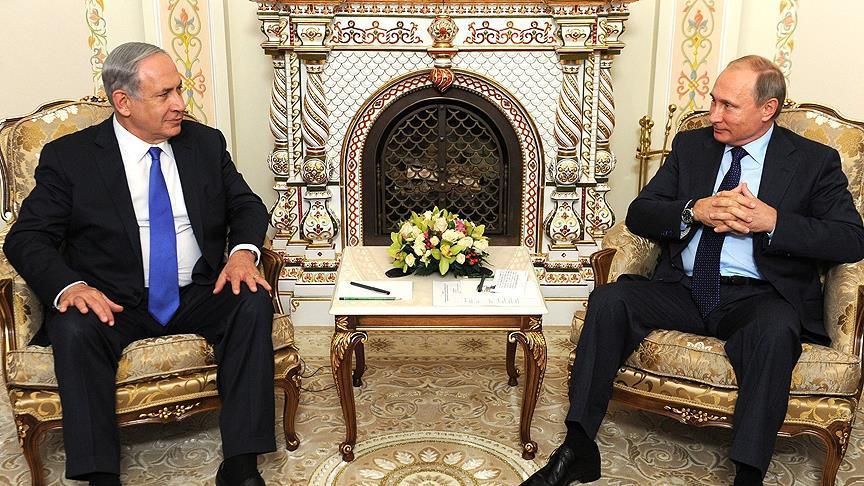 Paris'teki Netanyahu - Putin görüşmesi iptal edildi