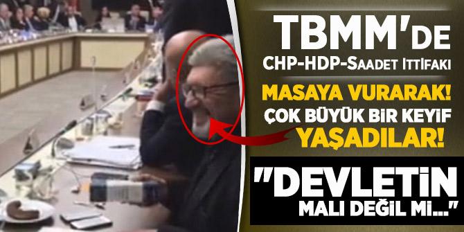 TBMM'de CHP-HDP-Saadet ittifakı