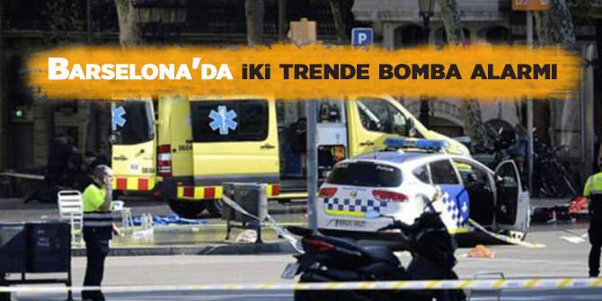 Son Dakika...Barselona'da Bomba Alarmı! 2 Tren Hattı...