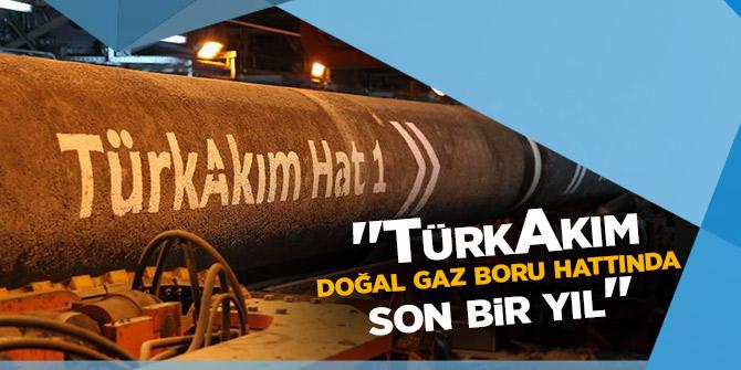 """""""TürkAkım doğal gaz boru hattında son bir yıl"""""""