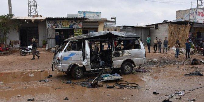 Azez'de bombalı araçla saldırı düzenlendi