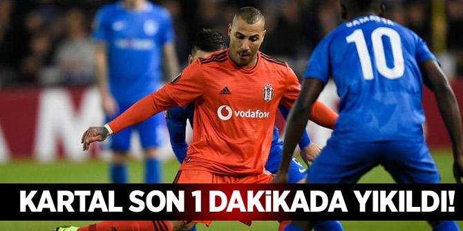 Kartal son 1 dakikada yıkıldı! Genk 1-1 Beşiktaş maç özeti ve golleri izle