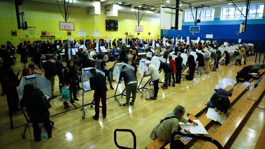 ABD'deki ara seçime Müslüman seçmenin neredeyse tamamı katıldı