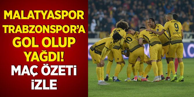 Fırtına kabusu sürüyor! Malatyaspor - Trabzonspor maç özeti ve golleri izle