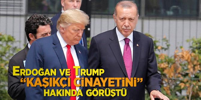 Cumhurbaşkanı Erdoğan ve Trump Kaşıkçı cinayetini görüştü