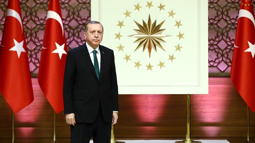 Başkan Erdoğan'dan şehit ailelerine taziye telgrafı