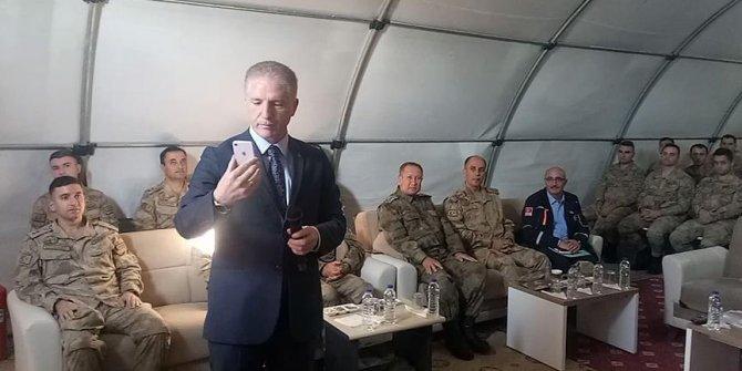 Bakan Soylu'dan El Bab'daki askerlere seslendi
