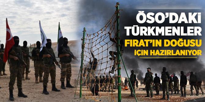 ÖSO'daki Türkmenler Fırat'ın doğusu için hazırlanıyor