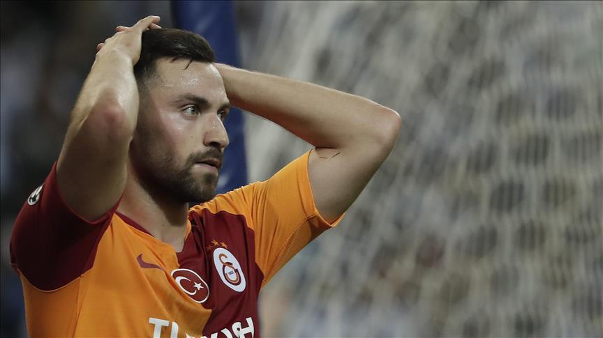 Galatasaray'a Sinan Gümüş'ten kötü haber
