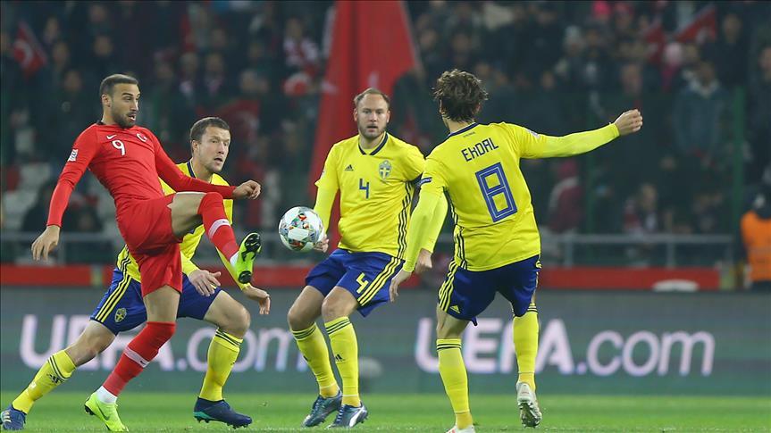Türkiye İsveç'e 1-0 yenilerek C Ligi'ne düştü