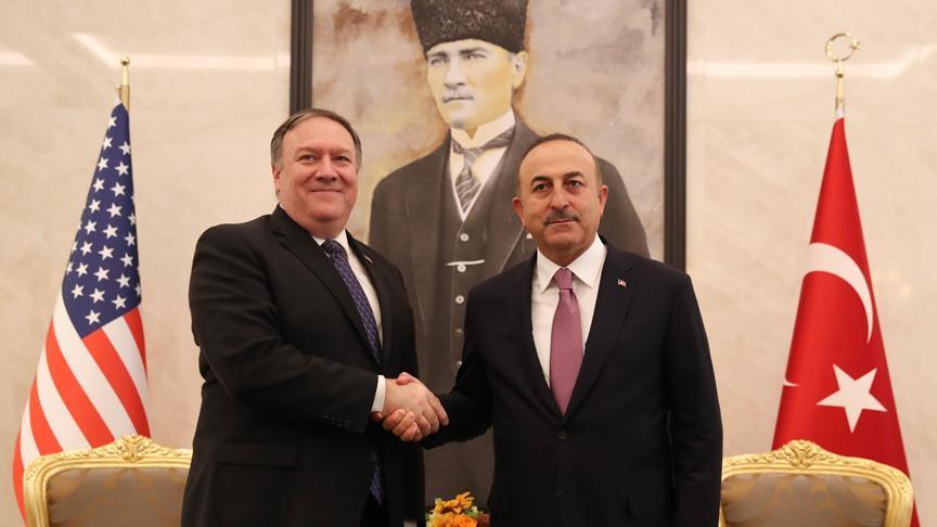 Bakan Çavuşoğlu ABD'li mevkidaşı Pompeo ile görüşecek