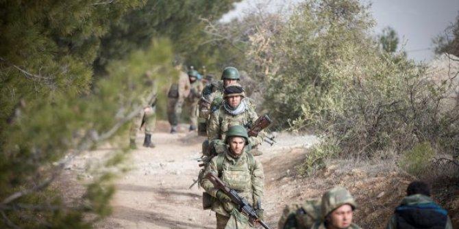 Afrin'de halka zulmeden, suç örgütüne operasyon!