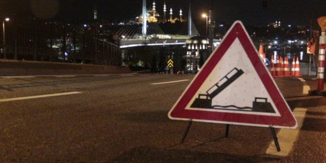 Haliç'te  kapatılan 3 köprü açıldı!