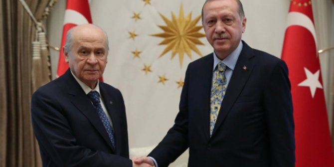 Başkan Erdoğan ile MHP Genel Başkanı Bahçeli görüşecek