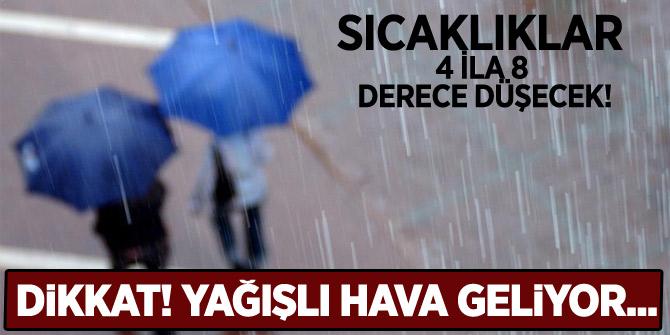 Türkiye yeni bir yağışlı havanın etkisine giriyor
