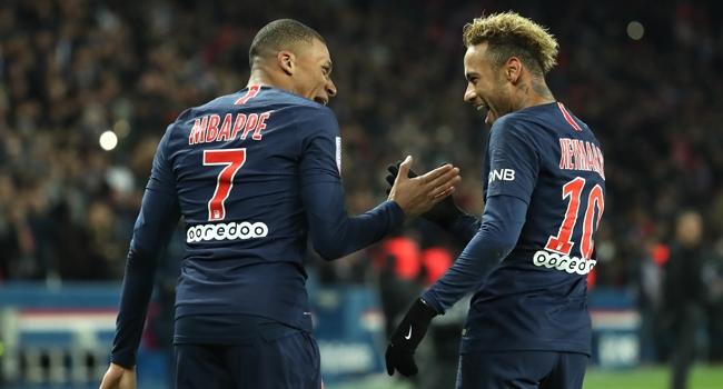 PSG'de Neymar ve Mbappe şoku