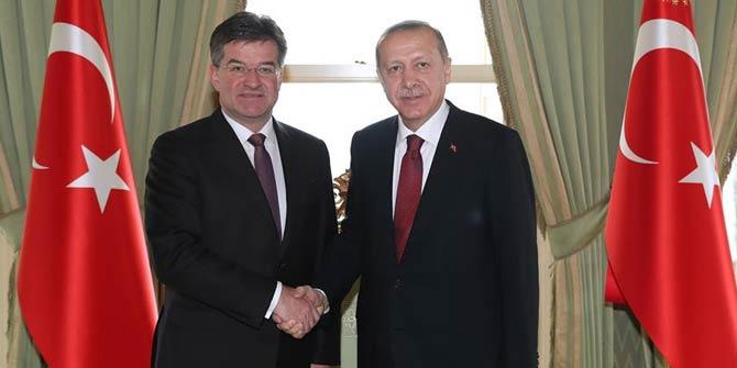 Başkan Erdoğan, Slovakya Dışişleri Bakanı'nı kabul etti
