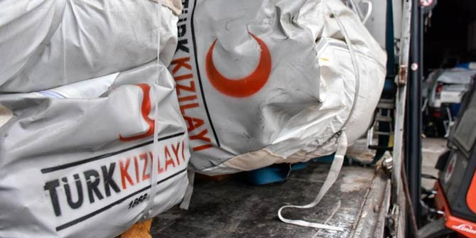 Türk Kızılay Lübnan'a insani yardım ekibi gönderiyor