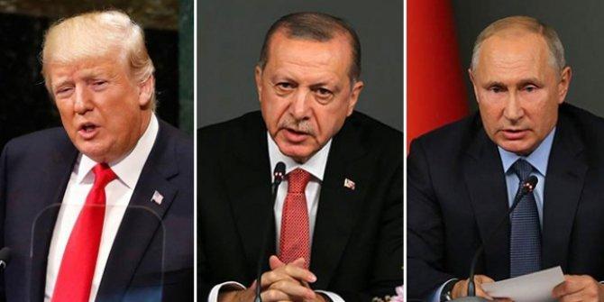 Cumhurbaşkanı Erdoğan, Trump ve Putin ile görüşecek