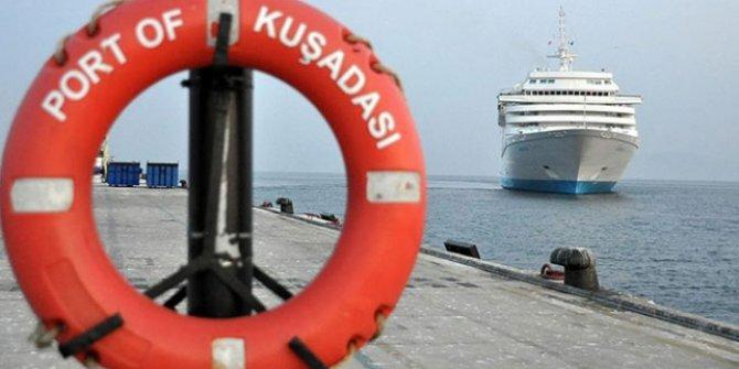 Ocak-ekim döneminde En fazla turistik gemi Kuşadası'na geldi!