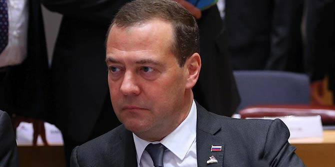 Rusya Başbakanı Medvedev'den dikkat çeken açıklama