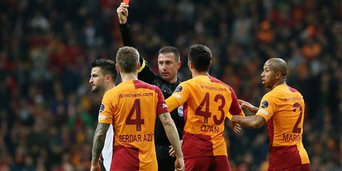 TFF'den Galatasaray'ın cezalarına onama