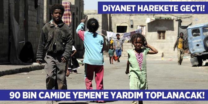 Diyanet harekete geçti! 90 bin camide Yemen'e yardım toplanacak