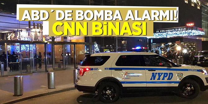 ABD´de bomba alarmı! CNN binası...