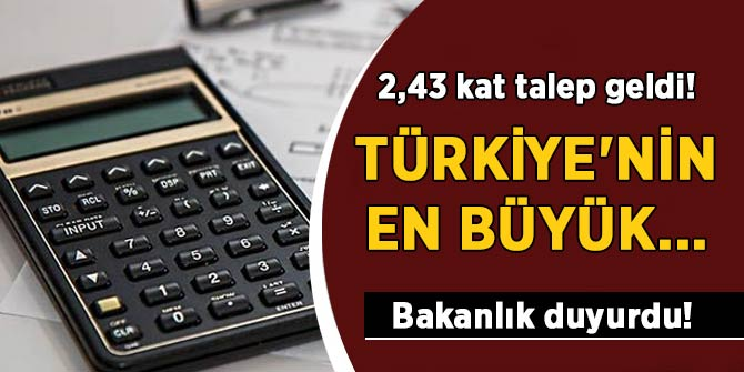 Bakanlık duyurdu! Türkiye'nin en büyük...