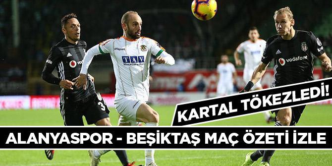 Kartal deplasmanda tökezledi! Alanyaspor Beşiktaş 0 - 0 maç özeti izle