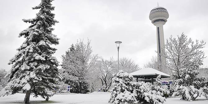 Ankara'ya kar geliyor! İstanbul'da ise...