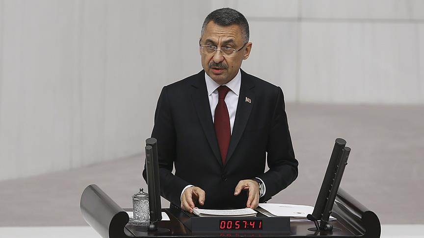 Cumhurbaşkanı Yardımcısı Oktay: Gündemimizde terör koridorunu parçalamak var