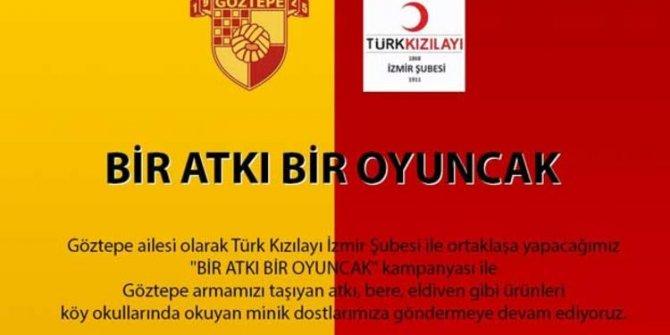 """Göztepe'den """"Bir Atkı Bir Oyuncak"""" Kampanyası"""