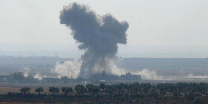 ABD öncülüğündeki koalisyon Deyrizor'un doğu kırsalındaki Keşme bölgesine saldırdı! 15 ölü