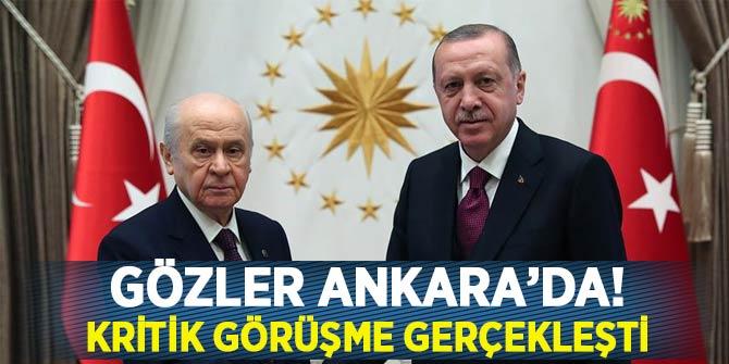 Başkan Erdoğan ve Bahçeli arasındaki kritik görüşme sona erdi