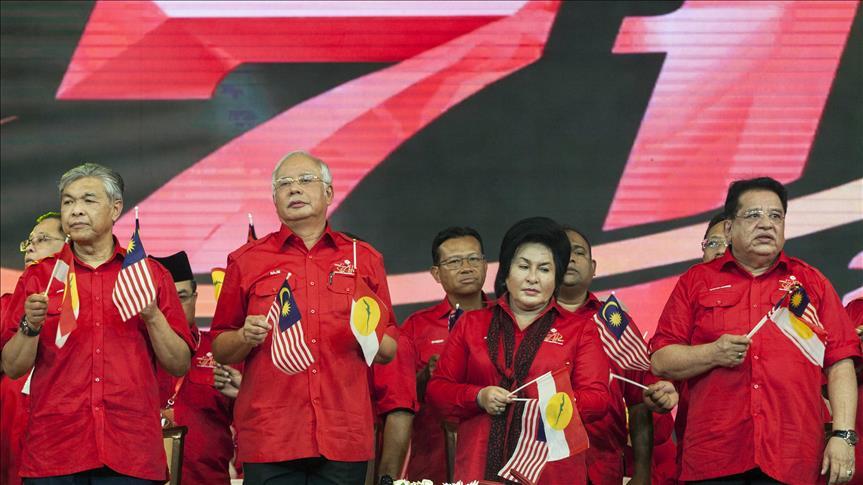 Malezya'da muhalefet partisi UMNO'da toplu istifa