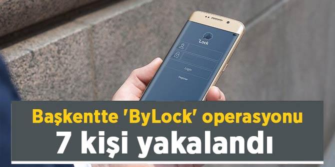 Ankara Cumhuriyet Başsavcılığı duyurdu! ByLock kullanıcısı 7 kişi yakalandı