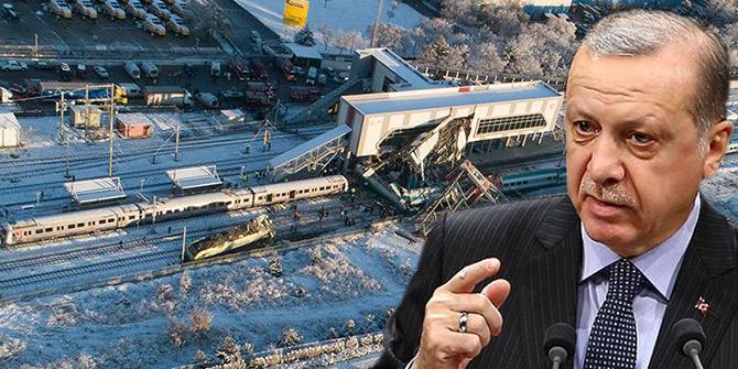 Başkan Erdoğan Ankara'daki tren kazasıyla ilgili bilgi aldı