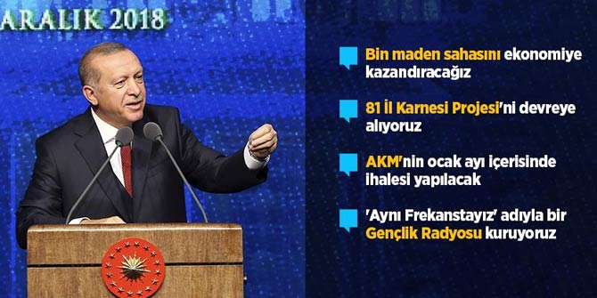 Başkan Erdoğan duyurdu: 60 günden 10 güne indiriyoruz