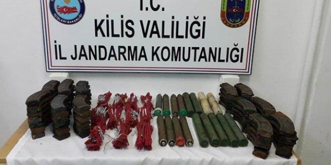 Kilis'te terör örgütü PYD/PKK'ya ait mühimmat ele geçirildi!